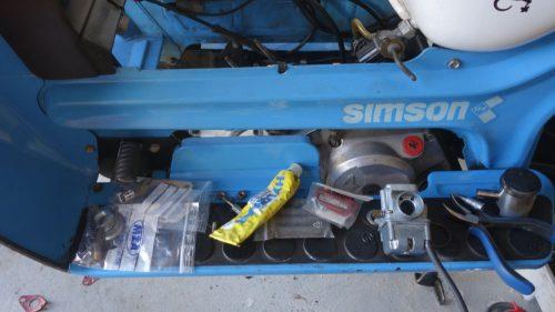 Zylinder-Garnitur wechseln beim SIMSON SR50