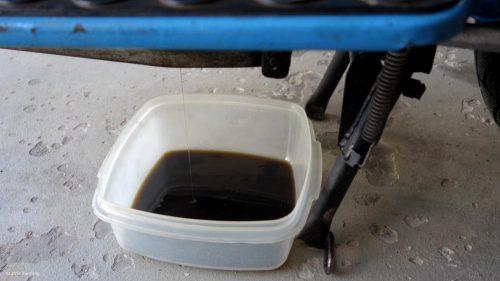 SIMSON Ölwechsel