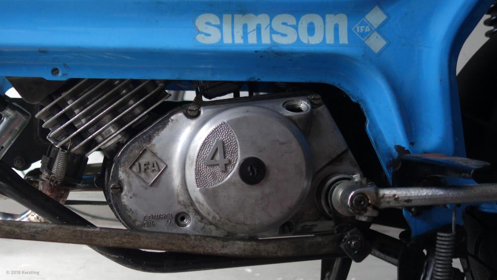 SIMSON SR50 Ölwechsel