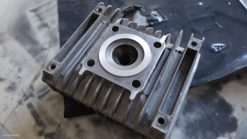 Optimierung der Quetschkante beim SIMSON Zylinder