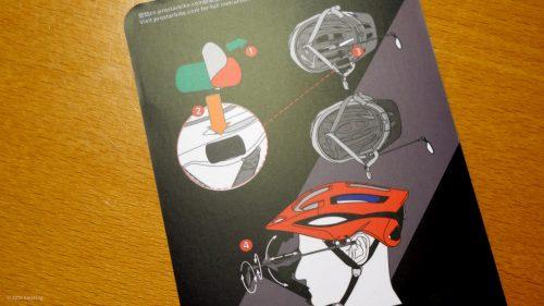 Spiegelmontage mit Klettband-Fixierung