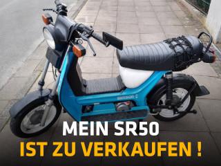 SIMSON SR50 zu verkaufen