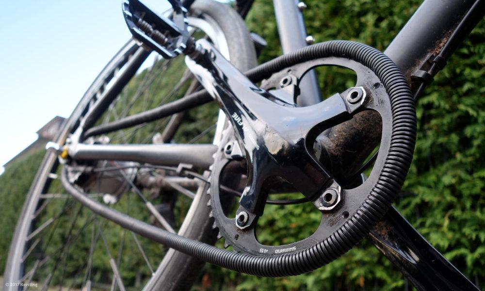 Test Chainrunner - Kettenschutz am Rad