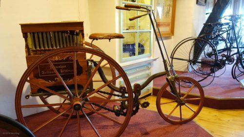 Transport Dreirad von 1888