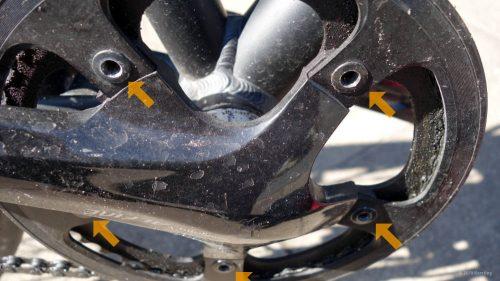 Knarzen durch loses Kettenrad am Fahrrad