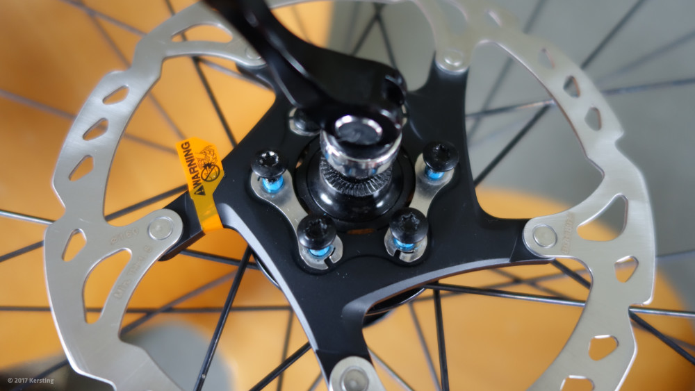 Umbau auf Bremsbeläge aus Sintermetall