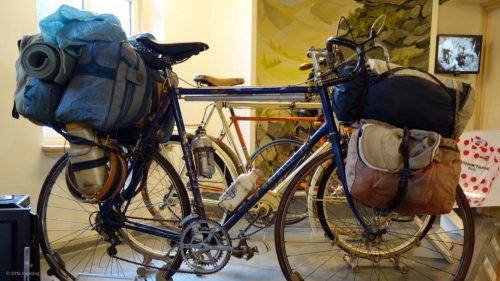 Weltreiserad von Frank van Rijn