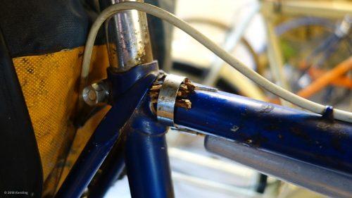 Weltreiserad in Nimwegener Fahrradmuseum