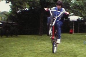 Wheely mit Federgabel