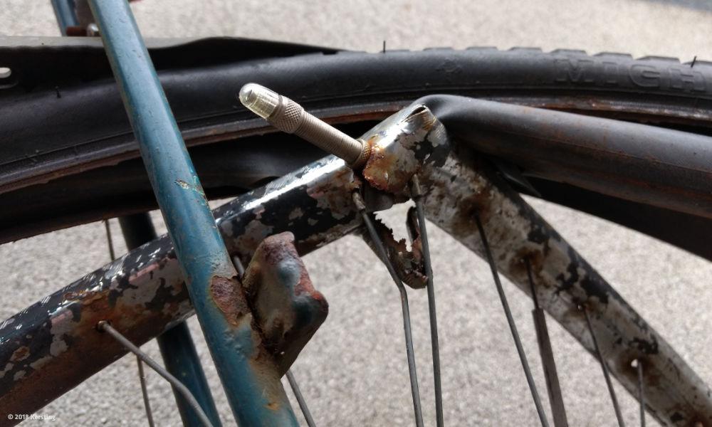 Wie lange hält ein Fahrrad?
