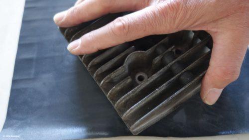 Zylinderkopf selbst auf einer Mamorplatte schleifen